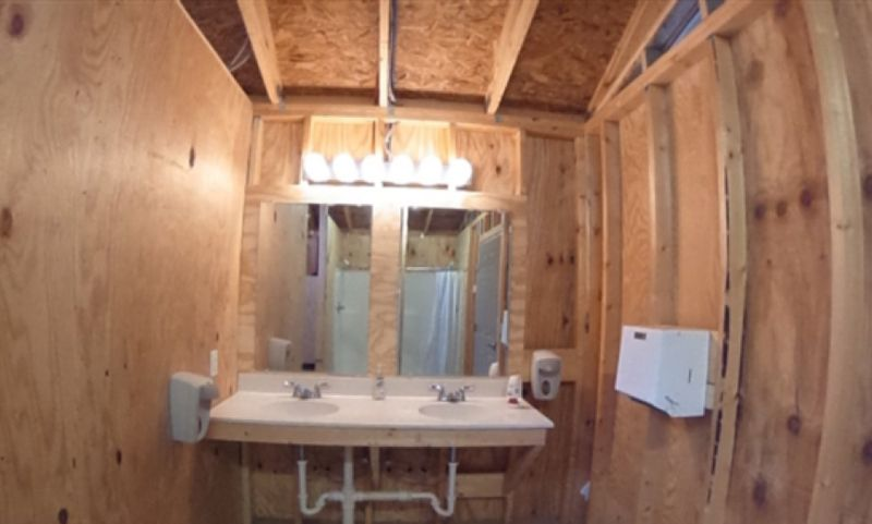 Bathroom Inside Cabin