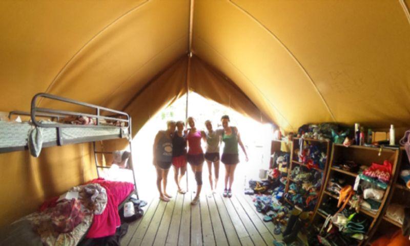Teen Village Tent