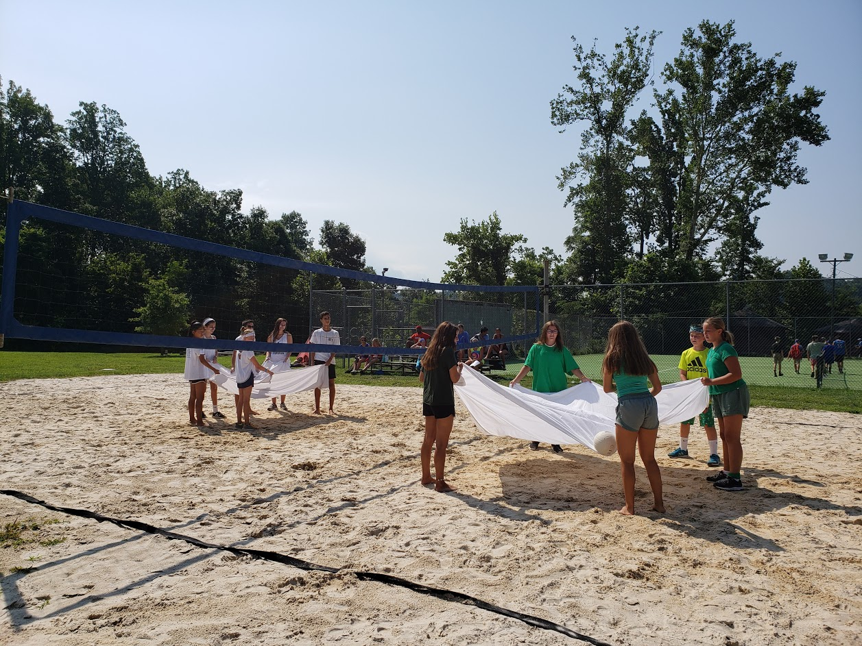 sheet volleyball